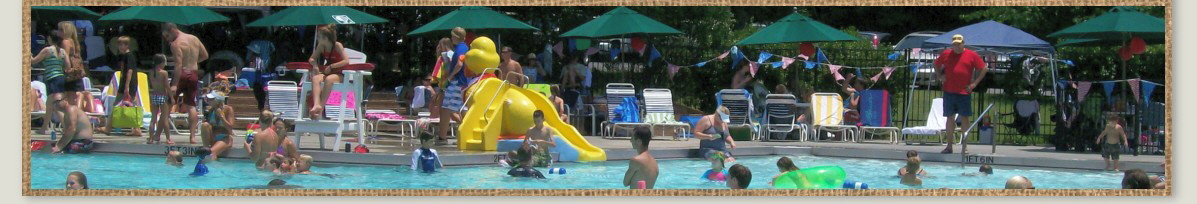 Located in Elon, NC near Burlington Olde Forest has a large pool with baby pool and lifeguards for family friendly summer fun.
